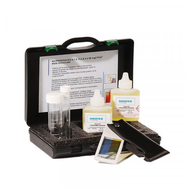 Malette de réactif pour les Phosphates