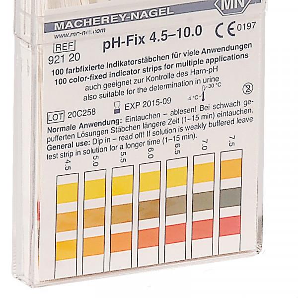 Bandelettes de mesure de pH