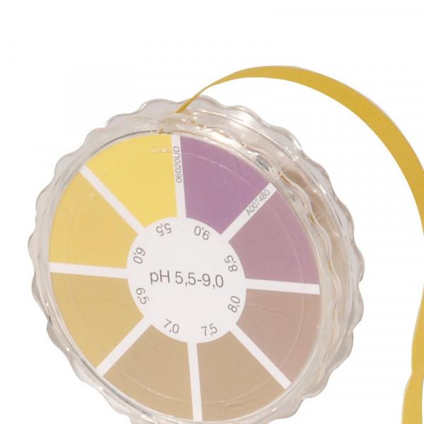 Rouleau de papier indicateur de pH