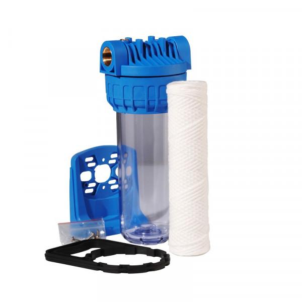 Porte filtre standard - 9 pouces 3/4 + cartouche 20µ