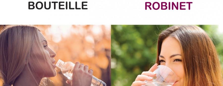 La t te hors de l 39 eau - Eau en bouteille vs eau du robinet ...